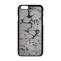 Slate Marble Texture Apple Iphone 6/6s Black Enamel Case by Nexatart