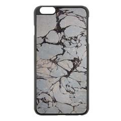 Slate Marble Texture Apple Iphone 6 Plus/6s Plus Black Enamel Case