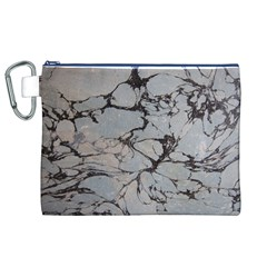 Slate Marble Texture Canvas Cosmetic Bag (xl) by Nexatart