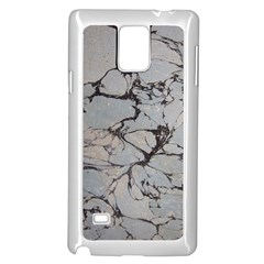 Slate Marble Texture Samsung Galaxy Note 4 Case (white)