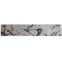 Slate Marble Texture Flano Scarf (large)
