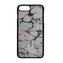 Slate Marble Texture Apple Iphone 7 Plus Seamless Case (black)