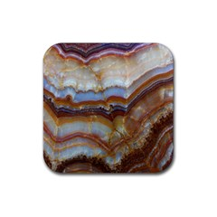 Wall Marble Pattern Texture Rubber Coaster (square)