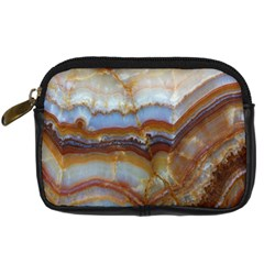 Wall Marble Pattern Texture Digital Camera Cases by Nexatart