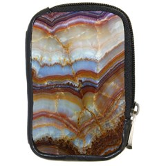 Wall Marble Pattern Texture Compact Camera Cases by Nexatart
