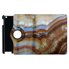 Wall Marble Pattern Texture Apple Ipad 3/4 Flip 360 Case