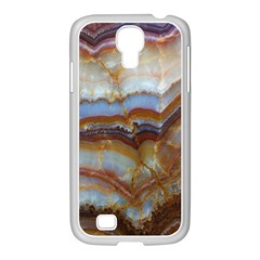 Wall Marble Pattern Texture Samsung Galaxy S4 I9500/ I9505 Case (white)