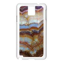 Wall Marble Pattern Texture Samsung Galaxy Note 3 N9005 Case (white)