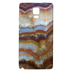 Wall Marble Pattern Texture Galaxy Note 4 Back Case by Nexatart