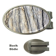 Texture Structure Marble Surface Background Money Clips (oval)  by Nexatart