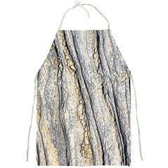 Texture Structure Marble Surface Background Full Print Aprons by Nexatart