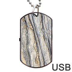 Texture Structure Marble Surface Background Dog Tag Usb Flash (one Side)