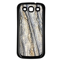 Texture Structure Marble Surface Background Samsung Galaxy S3 Back Case (black) by Nexatart