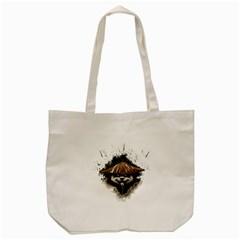 Warrior Panda T Shirt Tote Bag (cream) by AmeeaDesign