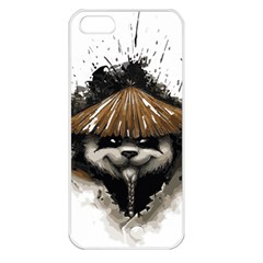 Warrior Panda T Shirt Apple Iphone 5 Seamless Case (white) by AmeeaDesign