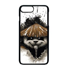 Warrior Panda T Shirt Apple Iphone 7 Plus Seamless Case (black) by AmeeaDesign
