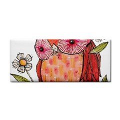 Summer Colourful Owl T Shirt Cosmetic Storage Cases by AmeeaDesign