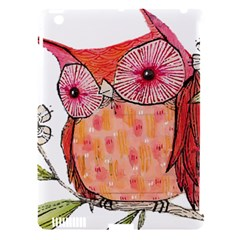 Summer Colourful Owl T Shirt Apple Ipad 3/4 Hardshell Case (compatible With Smart Cover) by AmeeaDesign