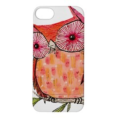 Summer Colourful Owl T Shirt Apple Iphone 5s/ Se Hardshell Case by AmeeaDesign