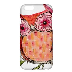 Summer Colourful Owl T Shirt Apple Iphone 6 Plus/6s Plus Hardshell Case by AmeeaDesign