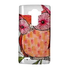 Summer Colourful Owl T Shirt Lg G4 Hardshell Case by AmeeaDesign