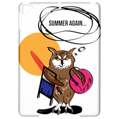 Owl That Hates Summer T Shirt Apple Ipad Pro 9 7   Hardshell Case by AmeeaDesign