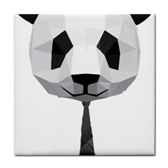 Office Panda T Shirt Tile Coasters by AmeeaDesign