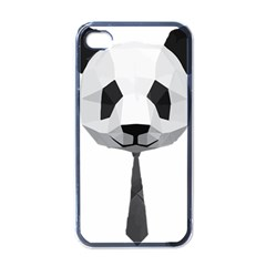 Office Panda T Shirt Apple Iphone 4 Case (black) by AmeeaDesign