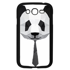 Office Panda T Shirt Samsung Galaxy Grand Duos I9082 Case (black) by AmeeaDesign