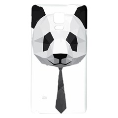 Office Panda T Shirt Galaxy Note 4 Back Case by AmeeaDesign