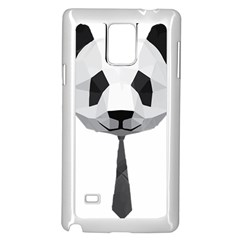 Office Panda T Shirt Samsung Galaxy Note 4 Case (white) by AmeeaDesign