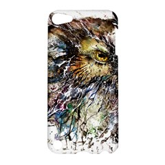 Angry And Colourful Owl T Shirt Apple Ipod Touch 5 Hardshell Case by AmeeaDesign