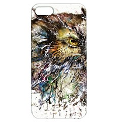 Angry And Colourful Owl T Shirt Apple Iphone 5 Hardshell Case With Stand by AmeeaDesign