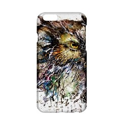 Angry And Colourful Owl T Shirt Apple Iphone 6/6s Hardshell Case by AmeeaDesign