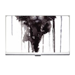 Angry Cat T Shirt Business Card Holders by AmeeaDesign