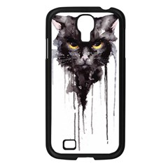 Angry Cat T Shirt Samsung Galaxy S4 I9500/ I9505 Case (black) by AmeeaDesign