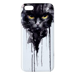 Angry Cat T Shirt Iphone 5s/ Se Premium Hardshell Case by AmeeaDesign
