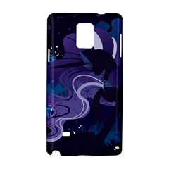 Nightmare Rarity Stream Wall  Samsung Galaxy Note 4 Hardshell Case by amphoto
