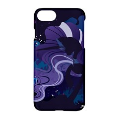 Nightmare Rarity Stream Wall  Apple Iphone 7 Hardshell Case by amphoto