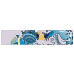 Zecora Stream Wall  Flano Scarf (small) by amphoto