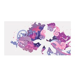 Sweetie Belle Stream Wall  Satin Wrap by amphoto