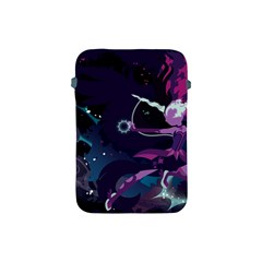 Midnight Sparkle Stream Wall  Apple Ipad Mini Protective Soft Cases by amphoto