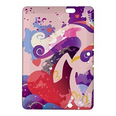 Cadance Stream Wall  Kindle Fire Hdx 8 9  Hardshell Case by amphoto