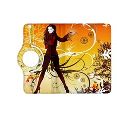 Girl Autumn Grass  Kindle Fire Hd (2013) Flip 360 Case by amphoto