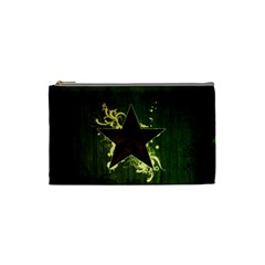 Star Dark Pattern  Cosmetic Bag (small)  by amphoto