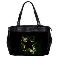 Star Dark Pattern  Office Handbags by amphoto