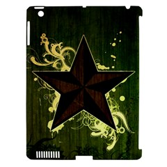 Star Dark Pattern  Apple Ipad 3/4 Hardshell Case (compatible With Smart Cover) by amphoto