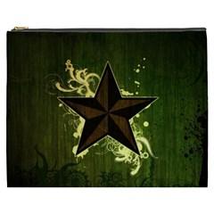 Star Dark Pattern  Cosmetic Bag (xxxl)  by amphoto