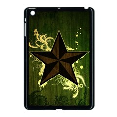 Star Dark Pattern  Apple Ipad Mini Case (black) by amphoto