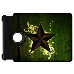 Star Dark Pattern  Kindle Fire Hd 7  by amphoto